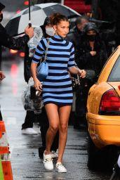 Bella Hadid - Michael Kors Photoshoot Set in New York 10/18/2020