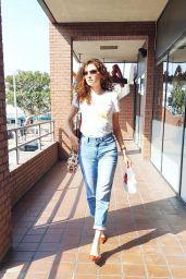 Blanca Blanco Street Style - Los Angeles 10/10/2020
