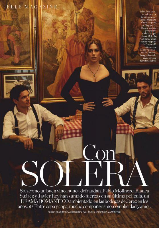 Blanca Suarez - ELLE Spain November 2020 Issue