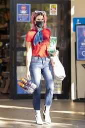 Brittany Furlan - Grocery Shopping in LA 10/28/2020