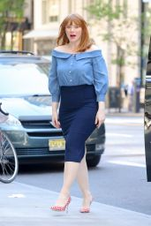 Bryce Dallas Howard - SiriusXM Studios in NYC 10/14/2020