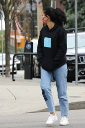 Camila Mendes - Out in Vancouver 10/17/2020