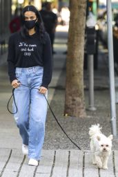 Camila Mendes Street Style - Vancouver 10/15/2020