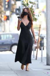 Camila Morrone - Shopping on Sunset Blvd in Hollywood 10/03/2020
