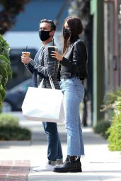 Camila Morrone Street Style - Shoppin on Melrose place in West Hollywood 10/08/2020