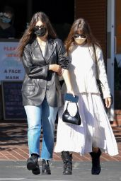 Camila Morrone With Her Mother at Mauro