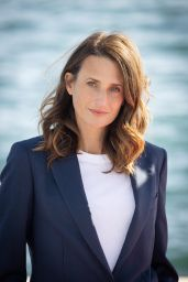 "Camille Cottin - ""Dix Pour Cent"" Photocall at the 3rd Canneseries in Cannes 10/13/2020"