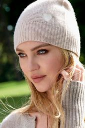 Candice Swanepoel - Naked Cashmere Campaign Fall 2020