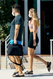 Candice Swanepoel - Out in Miami Beach 10/28/2020