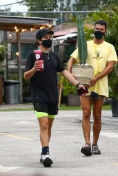 Candice Swanepoel - With Friends in Miami Beach 10/25/2020