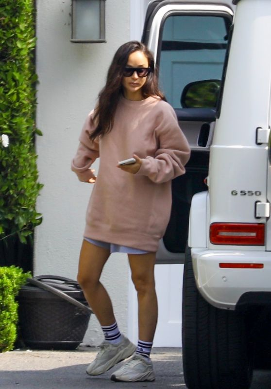 Cara Santana - Arriving at Her Home in Beverly Hills 10/08/2020