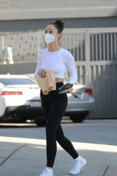 Cara Santana - Leaving a Gym Session in West Hollywood 10/28/2020