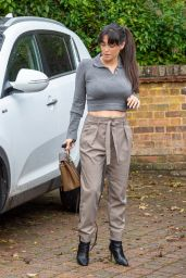 Casey Batchelor - Leaves Her House in London 10/13/2020