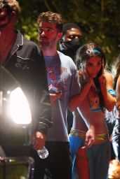 Chantel Jeffries - Halloween Party in Los Angeles 10/30/2020