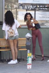 Chantel Jeffries in a Tight Activewear - Beverly Hills 10/13/2020