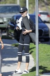 Charlotte McKinney - Workout in Malibu 10/12/2020