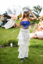 "Chloe Meadows - ""The Only Way is Essex"" TV Show Filming at Chlochella Festival in Essex 10/06/2020"
