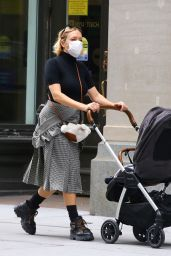 Chloe Sevigny - Out For a Stroll in New York 10/21/2020