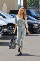Chrishell Stause at the DWTS Studio in LA 10/28/2020