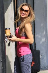 Chrishell Stause at the DWTS Studio in Los Angeles 10/11/2020