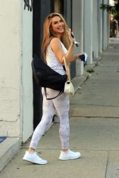 Chrishell Stause - DWTS Studio in Los Angeles 09/30/2020