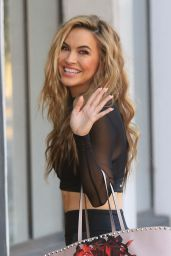 Chrishell Stause - Heads Into DWTS Studio in Los Angeles 10/14/2020