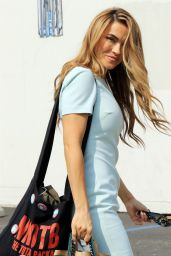 Chrishell Stause - Heads into the DWTS Studio in LA 10/09/2020