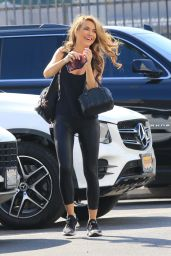 Chrishell Stause - Heads Into the DWTS Studio in Los Angeles 10/01/2020