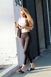 Chrishell Stause - Heads Out of Dance Practice in LA 10/13/2020