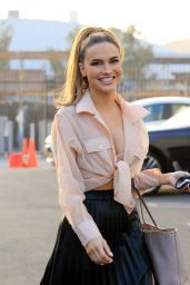 Chrishell Stause - Heads to the DWTS Studio in LA 10/21/2020
