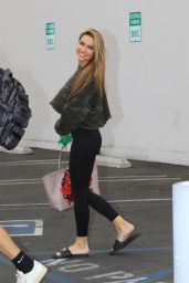 Chrishell Stause - Leaving the DWTS Studio in LA 10/24/2020