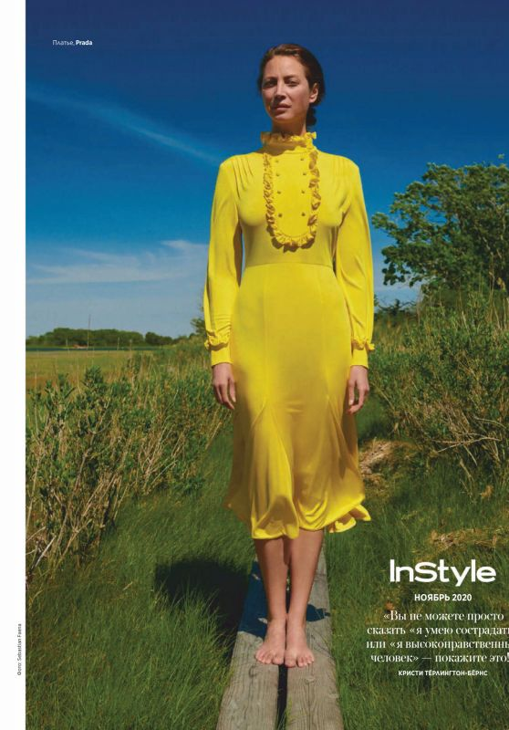 Christy Turlington - Instyle Russia November 2020 Issue