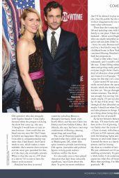 Claire Danes - Fairlady Magazine November 2020 Issue