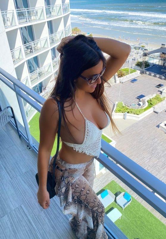 Claudia Romani - Uluwatu Collection Photoshoot in Daytona Beach 10/28/2020