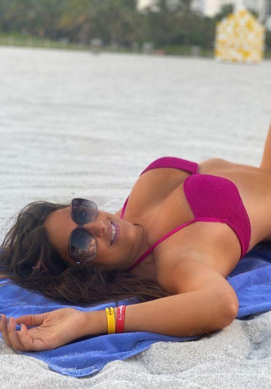 "Claudia Romani - ""We Stay Conscious"" Promoshoot on Miami Beach 10/20/2020"