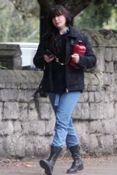 Daisy Lowe - Out in Primrose Hill 10/12/2020
