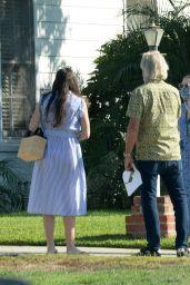 Dakota Fanning and Elle Fanning - House Hunt in LA 10/11/2020
