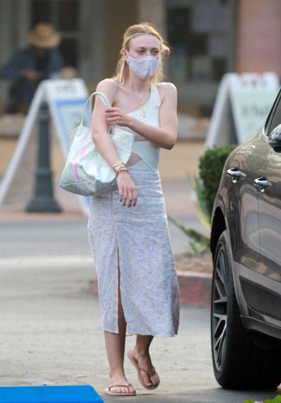 Dakota Fanning - Out in Malibu 10/05/2020