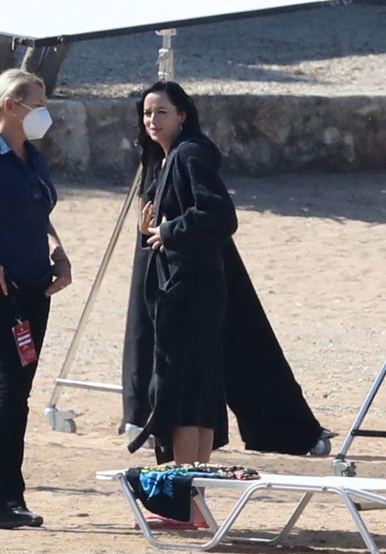 "Dakota Johnson - ""The Lost Daughter"" Filming in Greece 10/14/2020"
