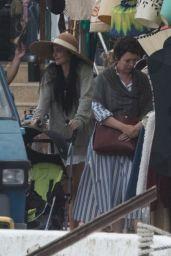 "Dakota Johnson - ""The Lost Daughter"" Filming in Speteses Island, Greece 10/22/2020"