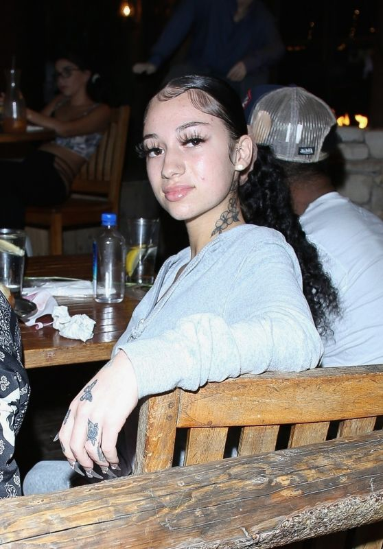 Danielle Bregoli - Out For Dinner in West Hollywood 10/28/2020