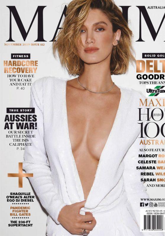 Delta Goodrem - Maxim Australia November 2020 Issue