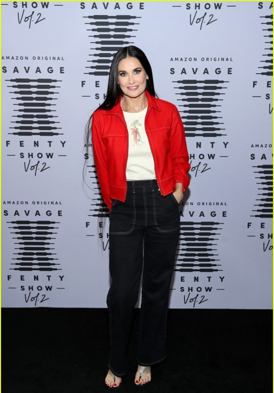 Demi Moore – Savage X Fenty Show Vol. 2 in Los Angeles