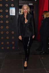 Denise Van Outen Night Out Style - Proud Embankment in London 10/10/2020
