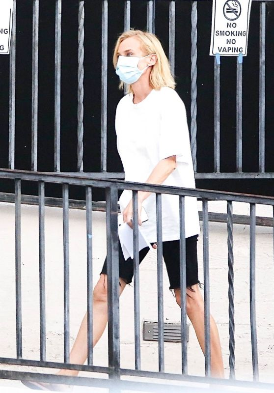 """Diane Kruger - """"Swimming With Sharks"""" Set in Los Angeles 10/15/2020"""
