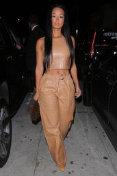 Draya Michele Night Out Style - West Hollywood 10/24/2020