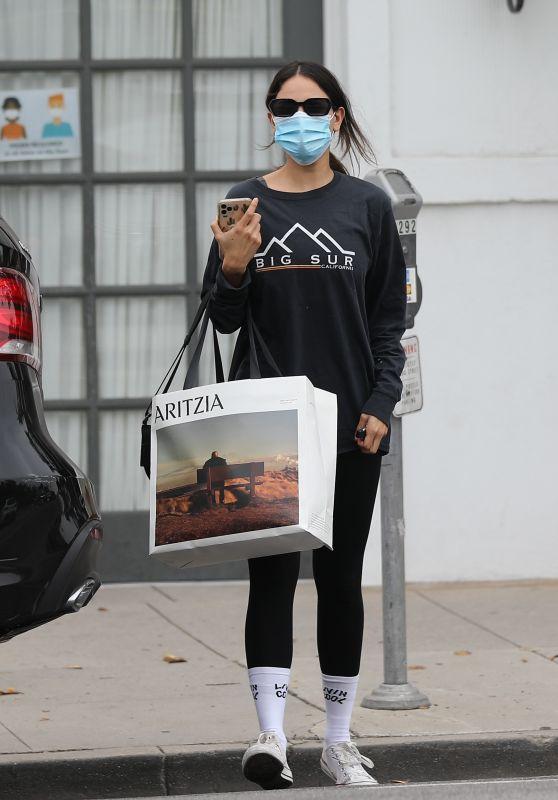 Eiza González Casual Style - Los Angeles 10/23/2020