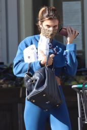 Elisabetta Canalis - Shopping at Bristol Farms 10/29/2020