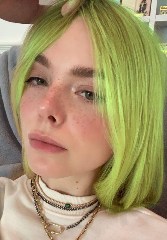 Elle Fanning - Social Media Photos 10/16/2020
