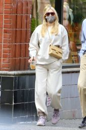 Elsa Hosk in Casual Outfit - Soho, New York 10/10/2020